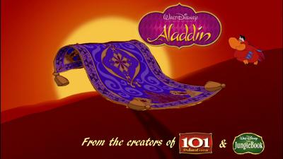 Aladdin Carpet Poster