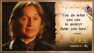 Once Upon a Time - 5x17 - Her Handsome Hero - Gold - Quote