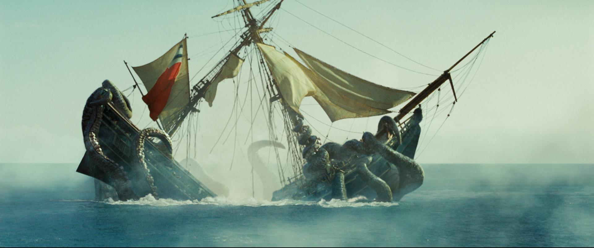 картинки пираты карибского моря кракен
