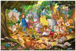 Prince take Snow White to far away castle
