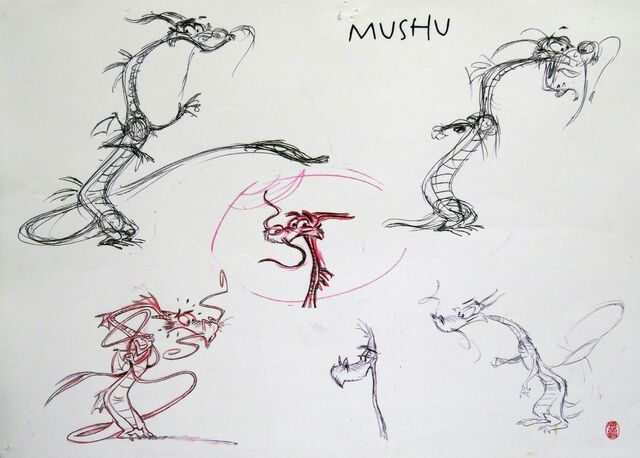 File:Mulan - Early Mushu Concept Sketch by Harald Siepermann - 4.jpg