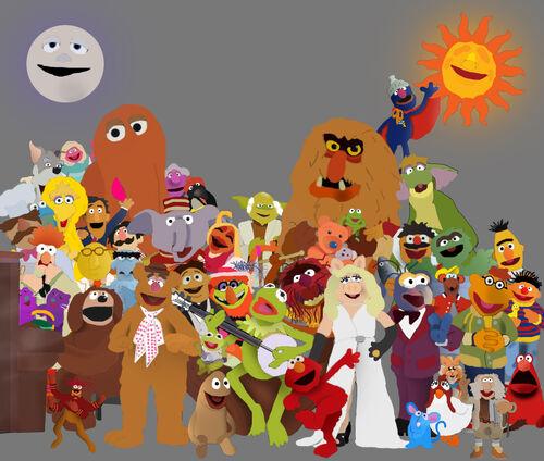 The Muppets Toystoryfan123 artwork