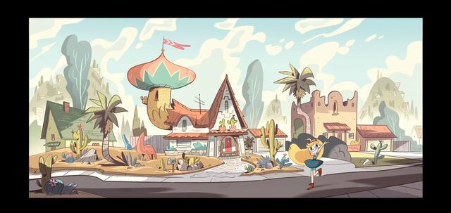 File:Star and the Forces of Evil Concept Art - Diaz House.jpg
