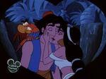 Aladdin & Jasmine - Moonlight Madness Kiss (2)
