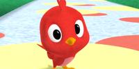 Baby Red Bird