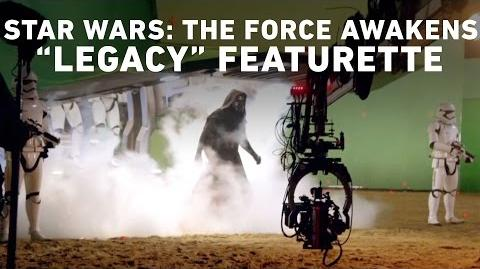 "Star Wars The Force Awakens ""Legacy"" Featurette (Comic Con Experience, Brazil)"