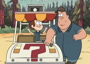 Dipper and soos fixing cart