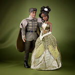 Disney Fairytale Designer Collection - Tiana and Naveen Dolls