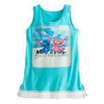 Stitch and Angel WDW Girls' Lace Tee