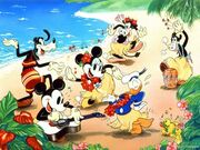 Mickey's Luau