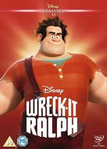 Wreck-It Ralph UK DVD 2014 Limited Edition slip cover