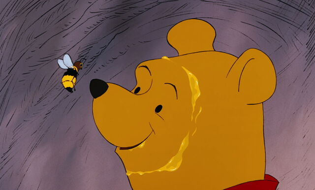 File:Winnie the Pooh has come face to face with the honey bee.jpg
