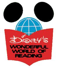 Disneys wonderful world of reading logo