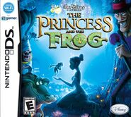The Princess and the Frog Nintenso DS Cover