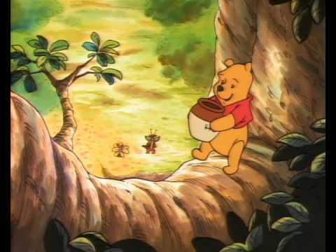File:Winnie the Pooh is up in the honey tree.jpg