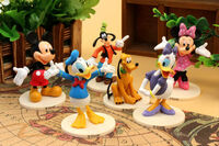 Cartoon-Mickey-and-Minnie-Mouse-Donald-Duck-font-b-Goofy-b-font-PVC-Action-font-b