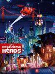 Big Hero 6 City at Night Poster