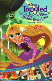 Tangled Before Ever After Cinestory Comic