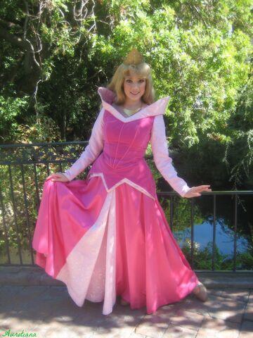 File:Aurora in the enchanted woods at Disneyland.jpg