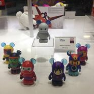 Big Hero 6 vinylmation's