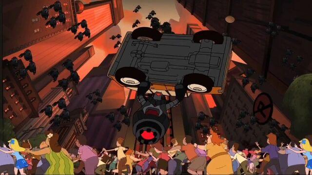 File:Robot throws car.jpg