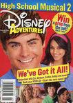 Disney Adventures Magazine cover September 2007 High School Musical 2
