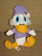 Scrooge McDuck Christmas Carol plush