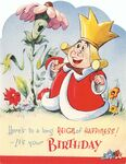 English valentine birthday card - king of hearts - ftont blog