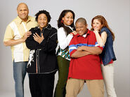 That's So Raven - Victor, Eddie, Raven, Cory and Chelsea