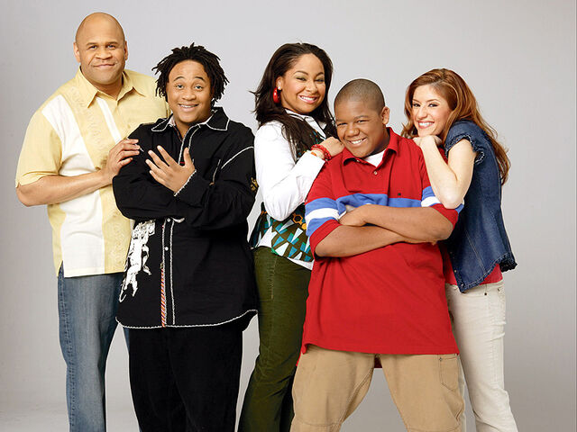 File:That's So Raven - Victor, Eddie, Raven, Cory and Chelsea.jpg