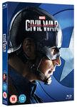 Captain America Civil War Blu Ray Captain America Sleeve
