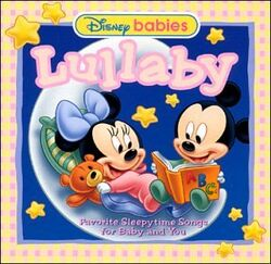 Disney baby lullaby cd