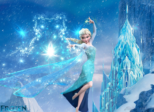 File:Elsa Shooting powerrs in front of ice castle.png