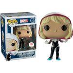 Funko Pop Spider-Gwen unmasked