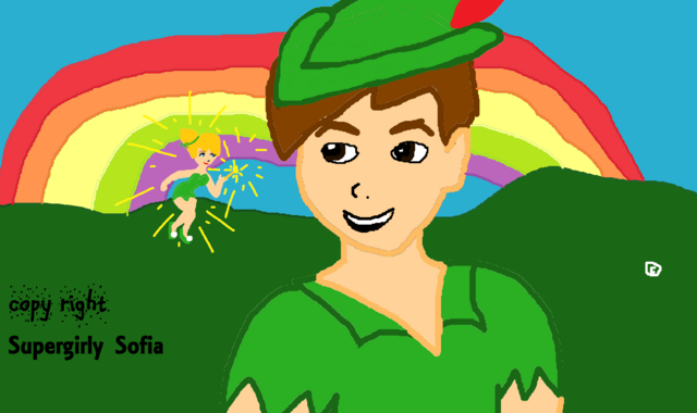 File:Peter Pan & Tinkerbell in Never Land-0.png