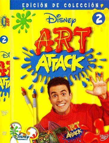 File:ART ATTACK VOLUMEN 2.jpg