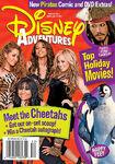 Disney Adventures Magazine cover December January 2007 Cheetah Girls
