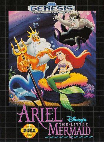 File:Little Mermaid Genesis game.jpg