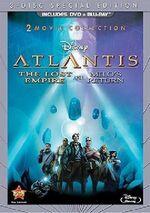 Atlantis DVD and Blu-ray