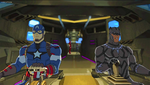 Captain America and Black Panther AUR 11