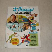 Disney magazine september 1976 issue