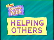 Helping Others title card