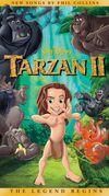 TARZAN II VHS
