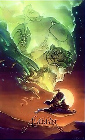 File:Disney's Aladdin - Unused Concept Poster Art by John Alvin - 2.jpg