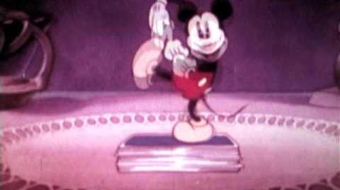 Mickey Mouse Disco Music Video VERY RARE Edited to the songs Disney Cartoon clips Super 8mm Film