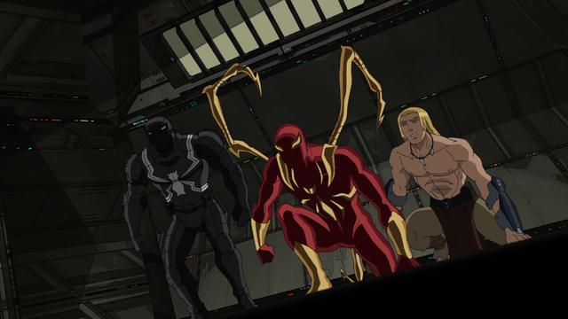 File:Agent Venom Iron Spider Ka-Zar USMWW.png