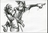 Disney's A Goofy Movie - Storyboard by Andy Gaskill - 17
