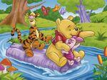 Disney winnie the pooh bear cartoon characters 6