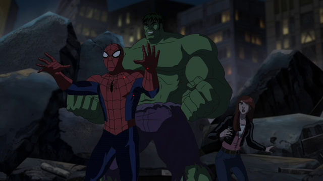 File:MJ Spider-Man Hulk USM.png