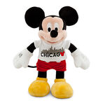 Mickey Mouse Plush - Chicago Tee - 18''